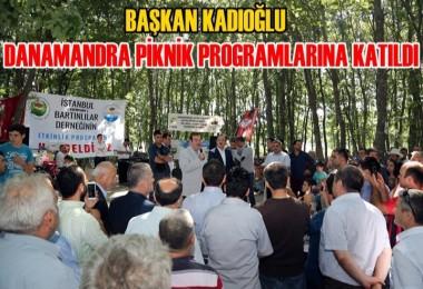 Kadıoğlu Dana Mandıra Piknik Programlarına Katıldı