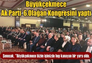 AK Parti Büyükçekmece 6. Olağan Kongresini Yaptı