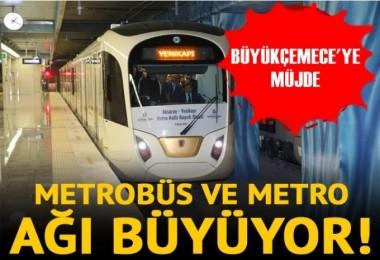 Uysal'dan Büyükçekmece'ye metro ve metrobüs müjdesi