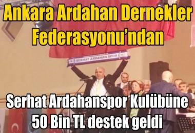 Ankara Ardahan Dernekler Federasyonu'ndan Boğalara Destek
