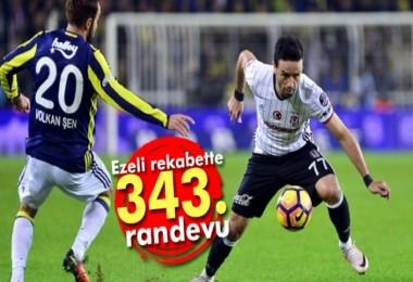 Beşiktaş-Fenerbahçe 343. randevusunda