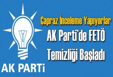 AK Parti'de çapraz inceleme