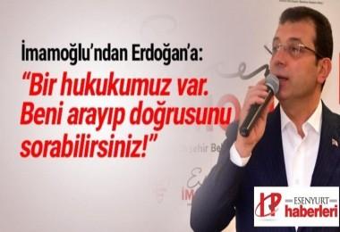 İmamoğlu'dan Erdoğan'a 'çöp' yanıtı: Arayın bana sorun