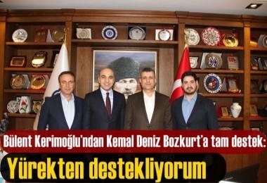 Bülent Kerimoğlu'ndan Kemal Deniz Bozkurt'a tam destek