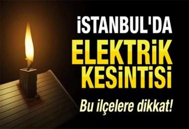 Esenyurt'ta 20 Şubat'ta 6 ilçede elektrik kesilecek