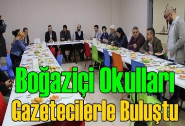 Boğaziçi Okulları Gazetecilerle Buluştu