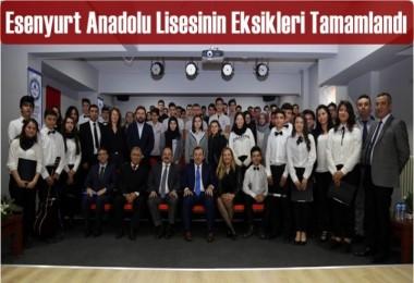 Esenyurt Anadolu Lisesinin Eksikleri Tamamlandı