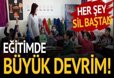 Eğitimde büyük devrim!