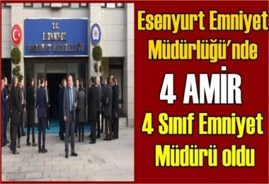 İstanbul Emniyet Müdürlüğü'nde Terfiler
