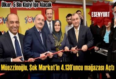 Bakan Müezzinoğlu Esenyurt'ta Açılışa Katıldı