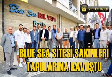 Blue Sea Site Sakinleri'nin Tapu sevinci