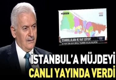 Yıldırım'dan İstanbul'a müjde