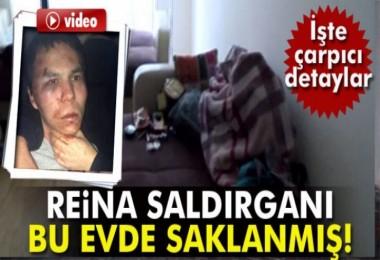 Reina saldırganı teröristin yakalandığı evden 2 drone çıktı