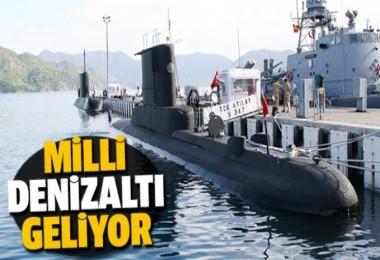 Türkiye denizaltı üretiyor