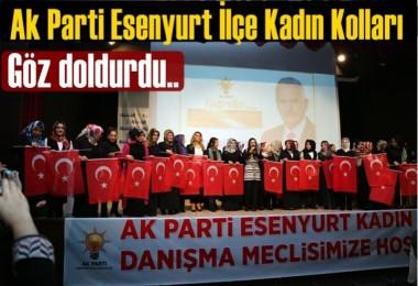 Ak Parti Esenyurt İlçe Kadın Kolları Danışma Meclisi gerçekleşti