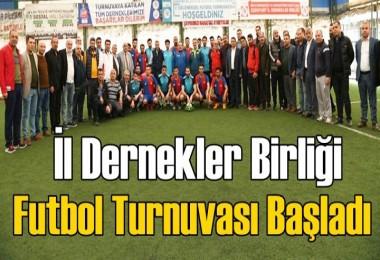 Esenyurt İl Dernekler Birliği Futbol Turnuvası Başladı