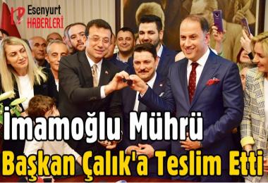 Beylikdüzü'nde Mehmet Murat Çalık dönemi başladı