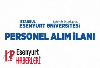 Esenyurt Üniversitesi Personel Alım İlanı Yayımlandı