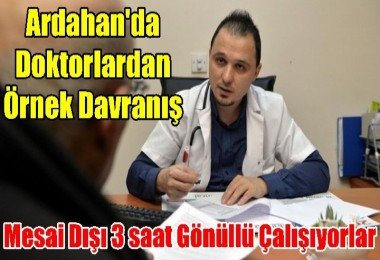 Ardahan'da gönüllü sigara bıraktırma mesaisi