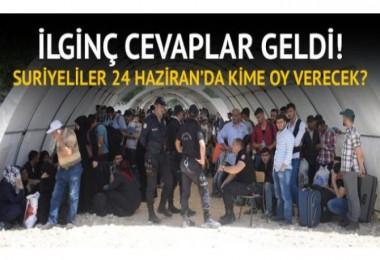 40 Bin Türk Vatandaşı olan Suriyeli Kime oy verecek