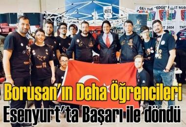 Borusan'ın Deha Öğrencileri Esenyurt'ta Başarı ile döndü