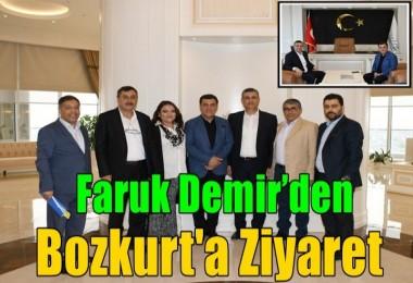 Demir'den Bozkurt'a Ziyaret