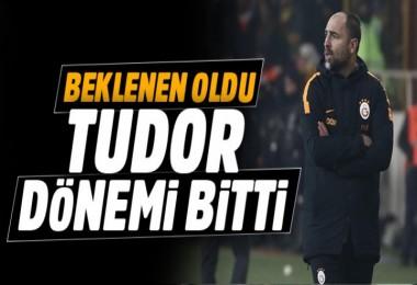 Galatasaray, Tudor ile yolları ayırdı