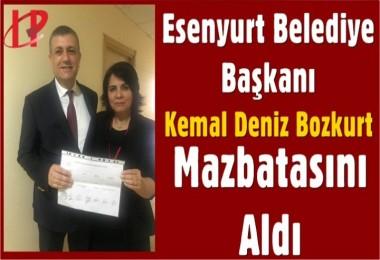 Bozkurt Mazbatasını aldı