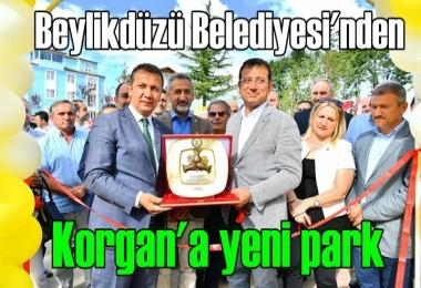 Beylikdüzü Belediyesi'nden Korgan'a yeni park