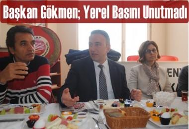 CHP Esenyurt İlçe Başkanı Gökmen; Yerel Basını Unutmadı