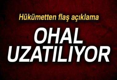 OHAL uzatılıyor!