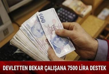 Devlet'ten Bekara 7500 TL
