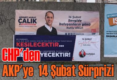 CHP'den AKP'ye 14 Şubat sürprizi