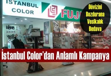 İstanbul Color'dan Anlamlı Kampanya