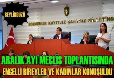 Beylikdüzü Belediyesi Aralık Ayı Meclisi Toplandı