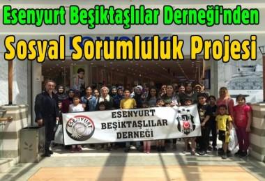 Esenyurt Beşiktaşlılar Derneği'nden sosyal sorumluluk projesi