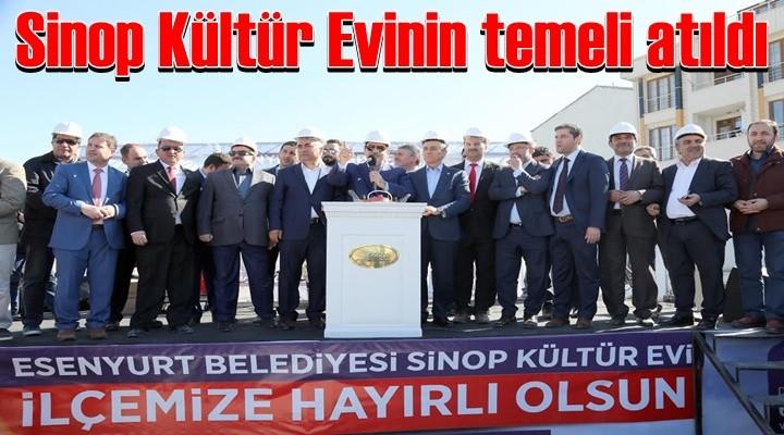 Sinop Kültür Evinin temelleri atıldı