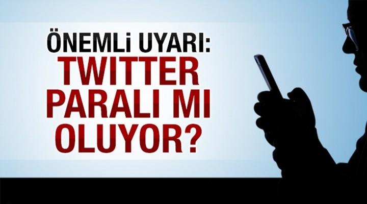 Twitter, paralımı olacak?