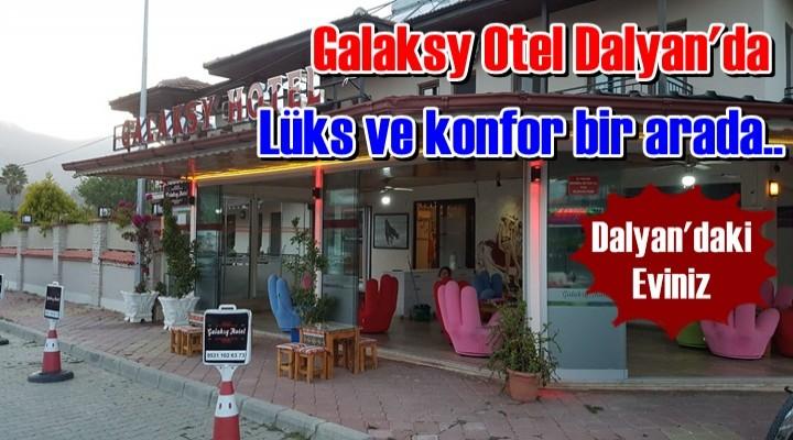 Galaksy Otel Dalyan'da lüks ve konfor bir arada