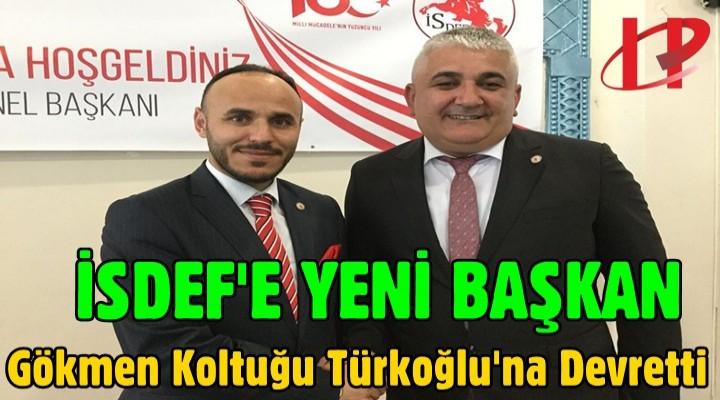 İSDEF'in Yeni Başkanı Türkoğlu oldu