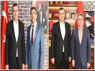 Başkan Bozkurt'tan iki ziyaret birden