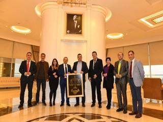 Adalet Birlik Partisi'nden Başkan Bozkurt'ta ziyaret
