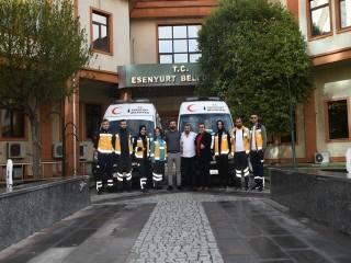 Esenyurt Belediyesi'nden 24 Saat Ambulans Hizmeti