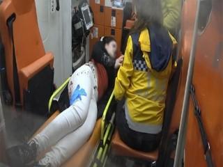 Esenyurt'ta Genç kadını bıçaklayarak gasp ettiler!