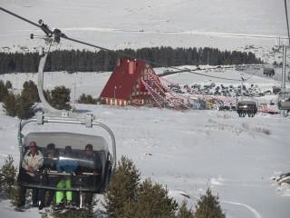 Ardahan Yalnızçam Kayak Merkezi'nde sezon açıldı