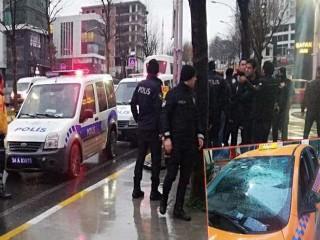Esenyurt'ta taksiciler birbirine girdi, ortalık karıştı!
