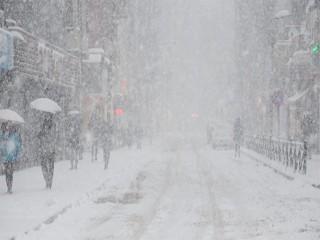İstanbul'da Kar yağışı için saat verildi