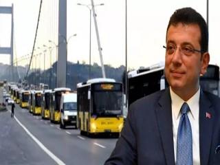 İmamoğlu açıkladı: İstanbul'da ulaşım seferlerine kısıtlama geliyor