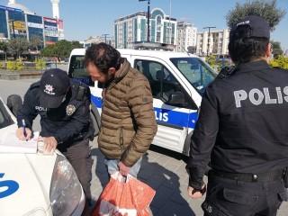 Esenyurt'ta yasağı ihlal eden Suriyeliye para cezası