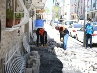 Esenyurt'ta Yol Bakım ve Onarım Çalışmaları Devam Ediyor